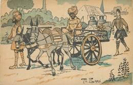 ANGLAIS ET INDOUS (indiens) - Guerre 1914/18; Carte Illustrée Par Th. Barn. - Guerre 1914-18