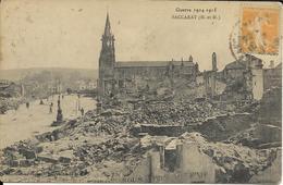 Guerre 1914 1918 - Baccarat  - Meuthe Et Moselle - Eglise - Vue Générale - Guerre 1914-18