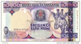 TANZANIA P. 33 10000 S 1997 AUNC - Tanzanie