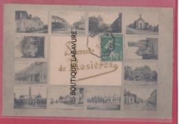 80 - ROSIERES---Souvenir De.....Multivues - Rosieres En Santerre