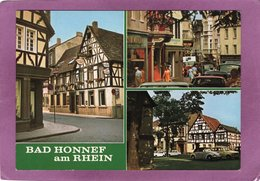 BAD HONNEF Am RHEIN Fachwerkhäuser Und Hauptstrasse - Bad Honnef
