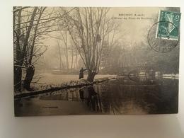 Brunoy - L'hiver Au Pont De Soulins - Brunoy