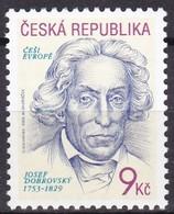 2003, Tschechische Republik, Ceska, 362,  Josef Dobrovsky'. MNH ** - Tschechische Republik