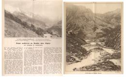 LA VALLEE De MONJOIE / SITE AUSTERE DES CHAPIEUX  ( HAUTE-SAVOIE )  1930 - Alpes - Pays-de-Savoie