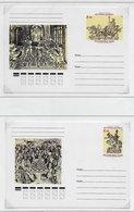 Tuva 1998; Chess; Two Postcards - Tuva