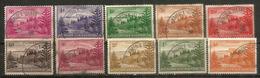 Ball Bay , Année 1947,   10 Timbres Oblitérés,  1 ère Qualitè,  Côte 15,00 € EUR - Ile Norfolk