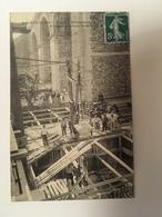 Brunoy - Travaux D'élargissement Du Viaduc - Fonçage Des Piles - Brunoy