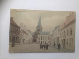 Assche Asse  Markt  Uitg F Van Achter  KLEUR - Asse