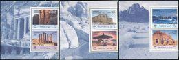 Jordan 1714-1719 Pairs,MNH. Tourist Sites,2000.Petra,Jerash,Mount Nebo,Dead Sea, - Jordan