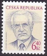2003, Tschechische Republik, Ceska, 363, Václav Klaus. MNH ** - Tschechische Republik