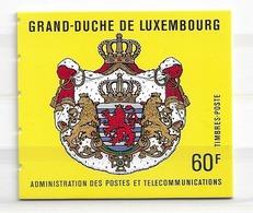 1989 MNH Luxemburg Mi MH2 Jean - Booklets