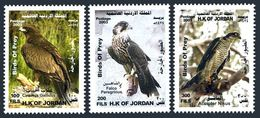 Jordan 1768-1770,MNH. Birds Of Prey 2003.Ciraetus Gallicus,Falco Peregrinus, - Jordan