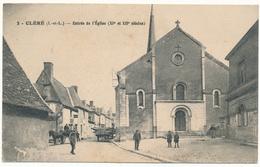 CLERE LES PINS - Entrée De L'Eglise - Cléré-les-Pins