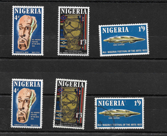 Nigeria 1972 Arts Festival, Complete Set  MNH And Used (6970) - Nigeria (1961-...)