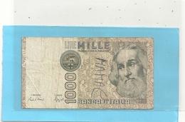BANCA D'ITALIA  . 1.000 LIRE . MARCO POLO    . N° OF 861368 I  . 2 SCANES - [ 2] 1946-… : République