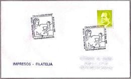"""Matasellos Mostra """"LA DONNA POT FER-HO"""". Barcelona 1990 - 1931-Hoy: 2ª República - ... Juan Carlos I"""