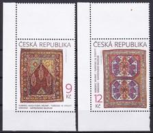 2003, Tschechische Republik, Ceska, 368/69, Orientalische Teppiche. MNH ** - Tschechische Republik