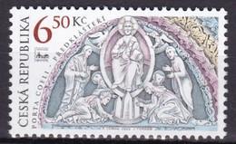 2003, Tschechische Republik, Ceska, 370, Portal Der Basilika Des Klosters Porta Coeli. MNH ** - Tschechische Republik