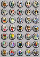 Henri Matisse Painting Fan ART BADGE BUTTON PIN SET 1 (1inch/25mm Diameter) 35 DIFF - Pins