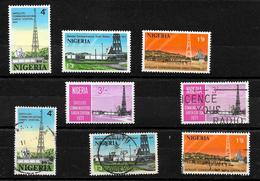 Nigeria 1971 Earth Satellite Station, Complete Set MNH And Used (6972) - Nigeria (1961-...)