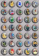 Henri Matisse Painting Fan ART BADGE BUTTON PIN SET 2 (1inch/25mm Diameter) 35 DIFF - Pins