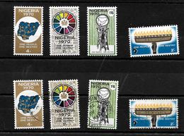 Nigeria 1970 Stamp Of Destiny, Complete Set MNH And Used (6973) - Nigeria (1961-...)