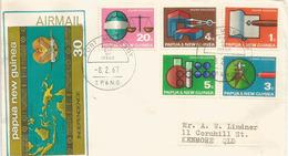 PAPOUASIE. Enseignement Supérieur (génie Civil,topographie,etc)   FDC 1967 - Papouasie-Nouvelle-Guinée