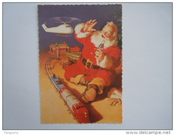 Coca Cola Kerstman Pere Noël Santa Train Trein Merry Christmas Happy New Year Reclame Pub Boomerang - Santa Claus