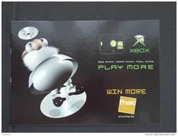 Carte Kaart Boomerang Belgique Sega GT 2002 XBOX Pub Fnac - Jeux Et Jouets