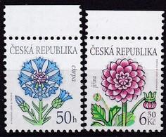 2003, Tschechische Republik, Ceska, 377/78, Blumen. MNH ** - Tschechische Republik