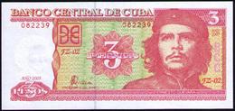 CUBA 3 PESOS 2005 REMPLAZO FZ11 UNC SC - Cuba