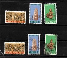 Nigeria 1965 Anniversary Of Republic Complete Set MNH And Used (7002) - Nigeria (1961-...)