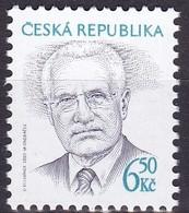 2003, Tschechische Republik, Ceska, 381, Václav Klaus. MNH ** - Tschechische Republik