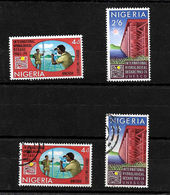 Nigeria 1967 Hydrological Decade Complete Set LMM And Used (6976) - Nigeria (1961-...)