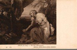 ART PEINTURE  KONIGL. GEMALDEGALLERIE DRESDEN  A. VAN DYCK  SAINT-JEROME - Peintures & Tableaux