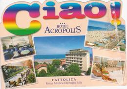 CATTOLICA - VEDUTINE MULTIVUES - ALBERGO HOTEL ACROPOLIS - Italie