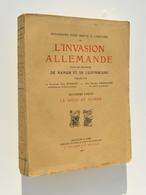 14-18 / L'Invasion Allemande Dans Les Provinces De Namur Et Luxembourg, 1920 / Andenne, Floreffe, Temploux, Lustin, Etc. - 1914-18
