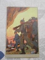 CPA CPA Patriotique Patriotika Guerre 14-18 1wk Ww1 Wk1 Feldpost Militaria - Guerre 1914-18