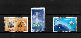 Nigeria 1965 ITU Centenary Complete Set LMM (6979) - Nigeria (1961-...)