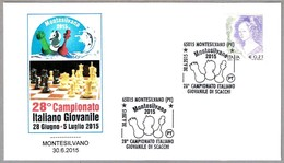 Campeonato Italiano JUVENIL DE AJEDRES - CHESS. Montesilvano, Pescara, 2015 - Ajedrez