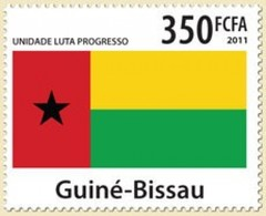 GUINE BISSAU 2011 SET COAT OF ARMS UNIT FIGHT PROGRESS UNIDADE LUTA PROGRESSO Gb11402a - Guinea-Bissau