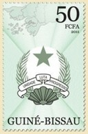 GUINE BISSAU 2011 SET COAT OF ARMS UNIT FIGHT PROGRESS UNIDADE LUTA PROGRESSO Gb11403a - Guinée-Bissau