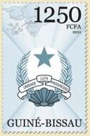 GUINE BISSAU 2011 SET COAT OF ARMS UNIT FIGHT PROGRESS UNIDADE LUTA PROGRESSO Gb11405a - Guinée-Bissau
