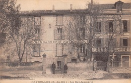 13 - Peyrolles - La Gendarmerie Animée - Plan N°1 - Peyrolles
