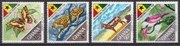 Ghana MNH Set And SS - Stamps