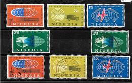 Nigeria 1961 UPU Complete Set MNH And Used (6986) - Nigeria (1961-...)