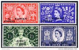 556 Kuwait Coronation 1953 MH * Neuf Ch (KUW-5a) - Koweït
