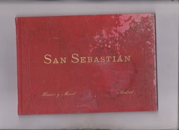 ALBUM DE 24 VISTAS EN FOTOTIPIA DE SAN SEBASTIAN - Books, Magazines, Comics