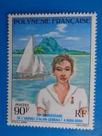 POLYNESIE 1976 Y&T N° 107 ** - 50e ANNIV. DE L'ARRIVEE D'ALAIN GERBAULT A BORA BORA - Frans-Polynesië