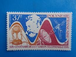 POLYNESIE 1976 Y&T N° 110 ** - CENT. DE LA PREMIERE LIAISON TELEPHONIQUE - Frans-Polynesië